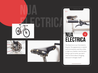 Nua bike app concept bicycle bike icon icons ux branding ui typography user interface digital branding concept design app