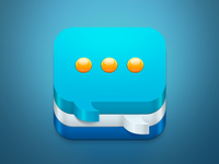 Chat ios icon big preview