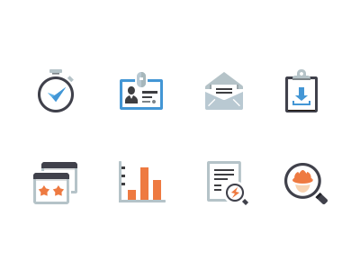 Real Estate Flat Icons halo lab icons real estate flat glyphs mail rate simple web worker search icon