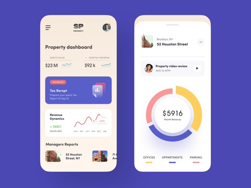 Realty Assets Mobile mobile design mobile app mobile ui service saas fintech finance business analytics realestate property halo interface iphone ux mobile app ui ios halo lab