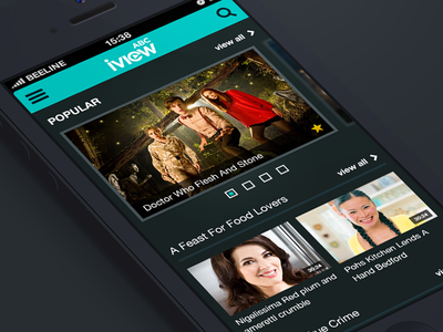 iView mobile app