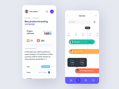 Fly Flow Mobile ux ui startup interface design application
