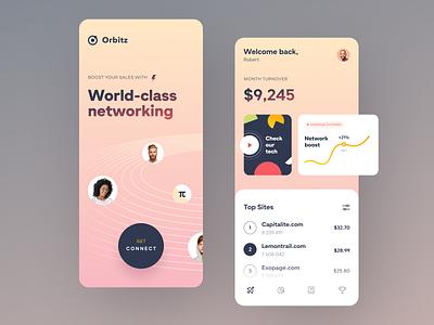 Orbitz Mobile design application startup interface ux ui