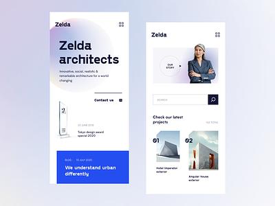 Zelda Mobile product application startup interface design ux halo lab ui