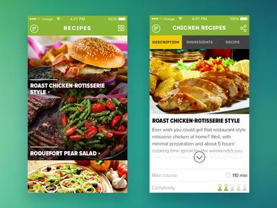 Cooking iOS app #WIP