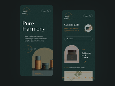 Pure Harmony Mobile application startup interface design ux halo lab ui