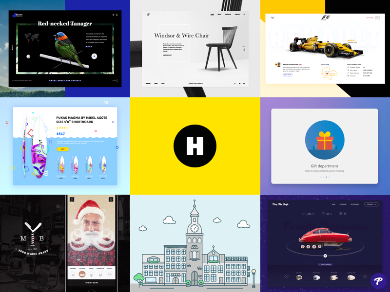 Best of 2016 halo lab design best of 2016 heyllow 2016 best9 interface web ui
