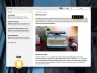 Notes OS X App Redesign