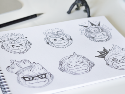 Monkey King Logo WIP