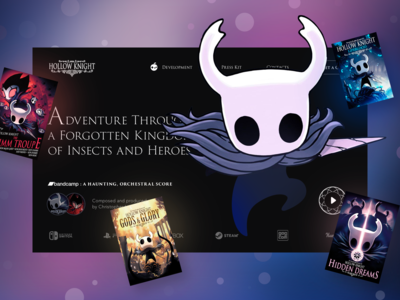 Hollow Knight Fan Promo Concept