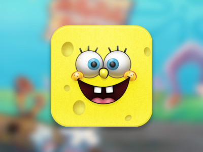 SpongeBob iOS Squareicon icon ios game cartoon sponge bob square