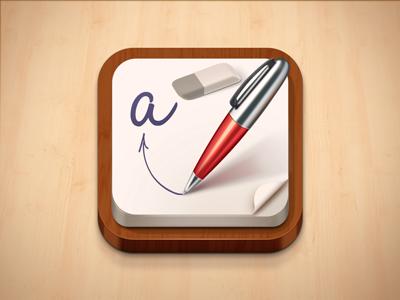 Remarks iOS icon ios icon ipad iphone remarks pen paper odessa ukraine