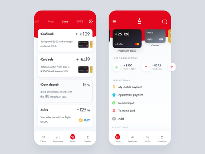 Alfa Mobile App Redesign alfabank android ios fintech application halo lab halo ui transactions mobile app mobile minimal finance app dashboard clean cards banking app banking app analitycs
