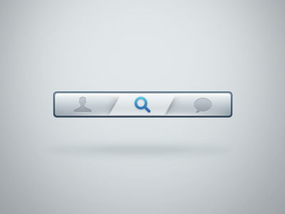 Navbar with active button ui web form bar button search navigation playoff