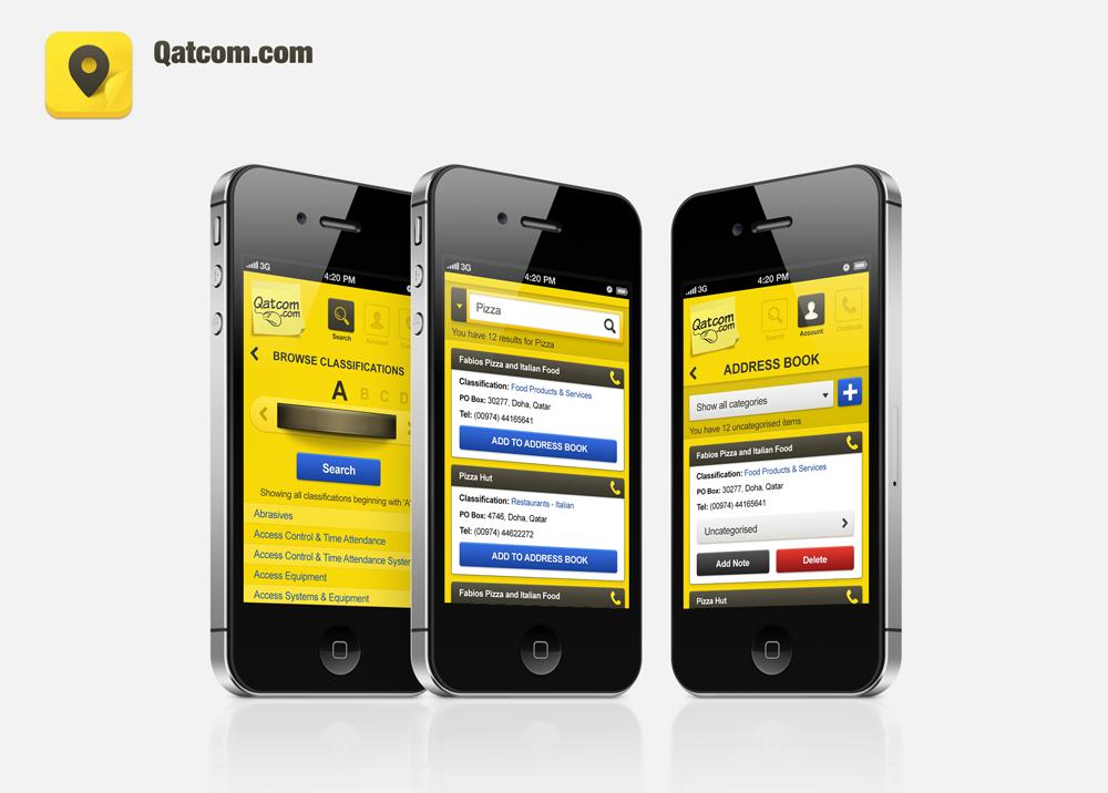 Qatcom app preview