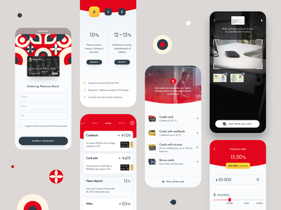 Alfa Mobile App Redesign app cards android mobile app finance app analytics fintech ui ux application bank credit halo halo lab ios mobile ui banking mobile alfabank
