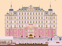 Pixel Grand Budapest Hotel