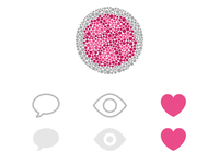 A color blind friendly Dribbble