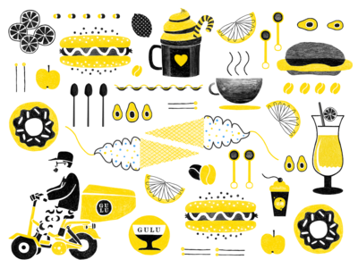 Graphic Design for Milk Tea Shop