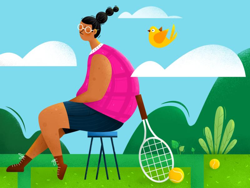 Sports figure illustration illustrations