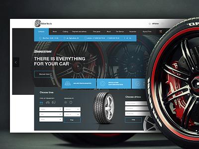 Tires Catalog UI e-commerce tires design web ux ui