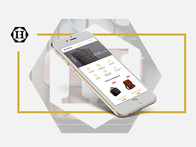 Handybag - Online Store for Bags development direction art design web store online ui