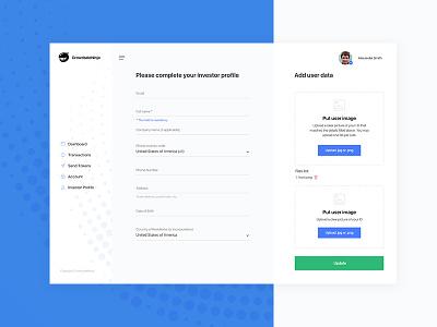 CrowdsaleNinja | TokenSale ICO Platform wallet app bitcoin wallet altcoin art direction ethereum ico token creative design app ux ui ui deisgn