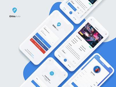 IDthisAuto | Mobile App Design mobile ui mobile app design ux design ui design art direction design ux creative ui
