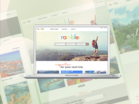 Travel Site UX Design