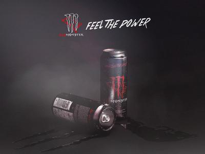 Feel the Power | Red Bull & Monster Energy Drink
