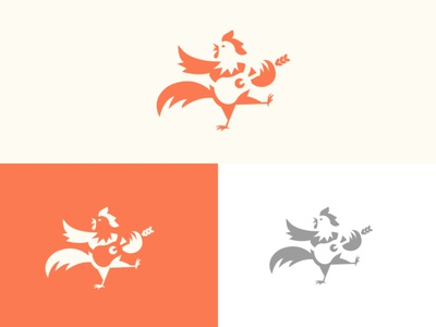 Rooster Logo graphicdesign logomark brand logodesignersclub illustration logodesigns branding graphic  design design logo