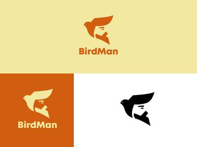Birdman logodesigner logomark graphicdesign brand logodesignersclub logodesigns branding graphic  design design logo