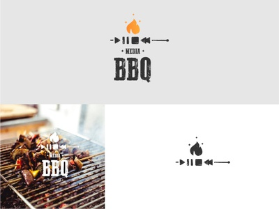 MediaBBQ logodesigns logodesign logodesigner logomark brand logodesignersclub branding graphic  design design logo