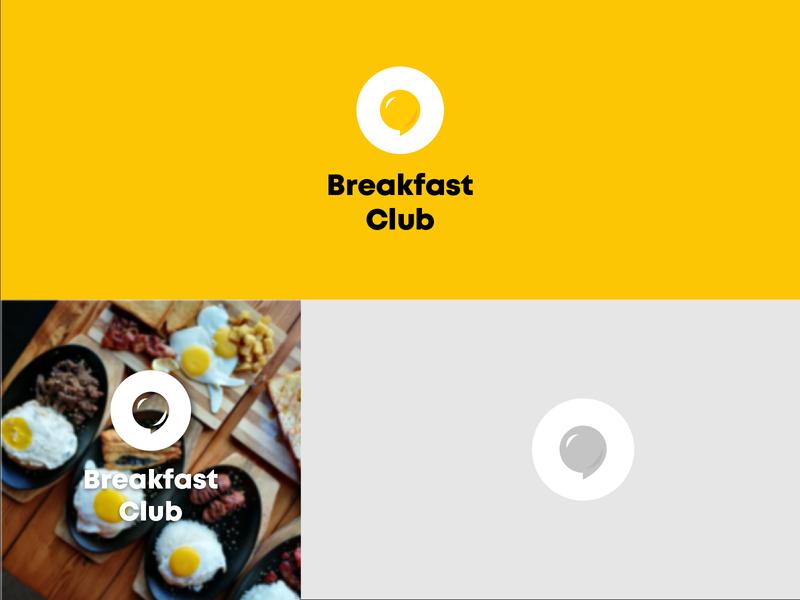 Breakfast club Logo Design brand identity branding design logodesigner logomark logodesigns graphic  design design branding breakfast logo