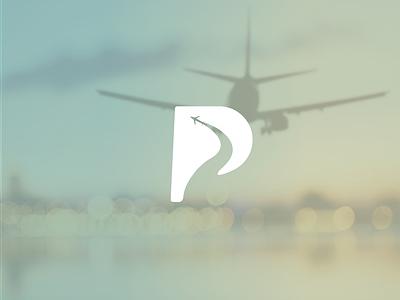 P for Plane logodesinger logodesignersclub logodesigns branding design logo graphic  design