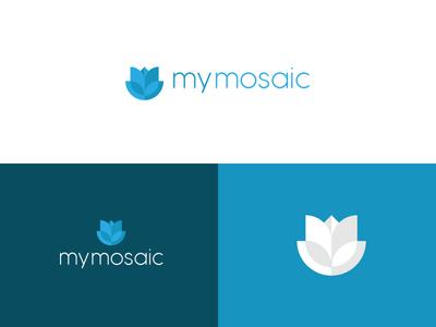 my mosaic logo design logomark logodesignersclub logodesigns branding graphic  design design logo