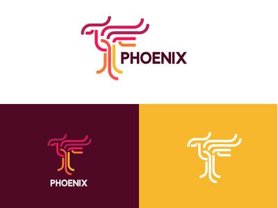 Phoenix Logo Design brand logomark logodesignersclub logodesigns illustration branding design logo
