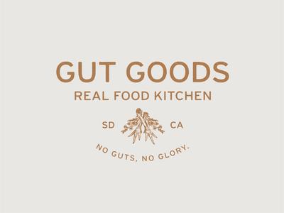 Logo for Gut Goods Real Food Kitchen