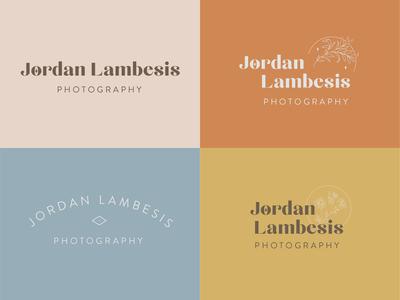 Logo Exploration for Jordan Lambesis Photography