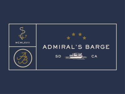 Logo for Admiral's Barge