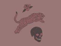 Tiger & Skull