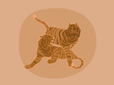 Peach Tigers