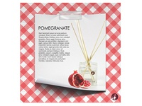 Reed Diffuser Pomegranate
