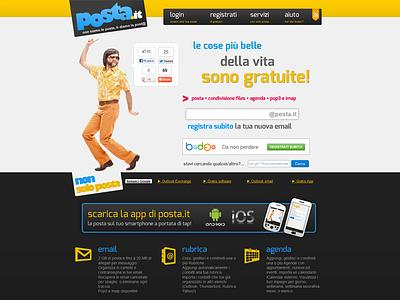 posta.it email zimbra design web webmail