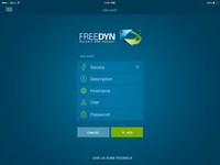 Freedyn Ipad Add Host