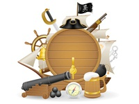 pirate concept icons
