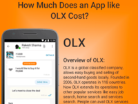 How Much Does An App Like OLX cost?