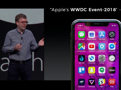 Keynotes From Apple S Wwdc Event