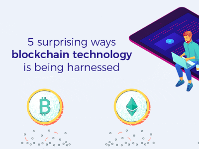 5 surprising ways blockchain technology is being harnessed