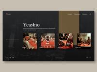 Ycasino website concept